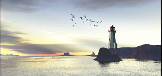 lighthouse in terragan post work
