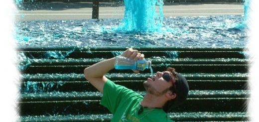 blue water in Washington DC