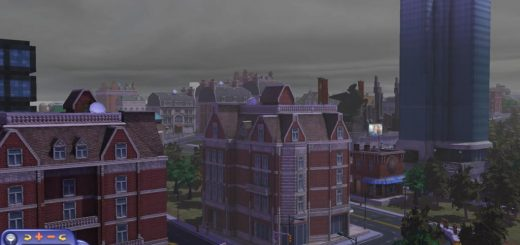 cloudy sim city
