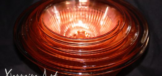 depression glass bowls