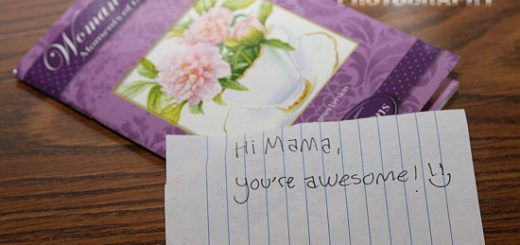 awesome love note