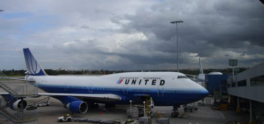 Flying United back to Maryland