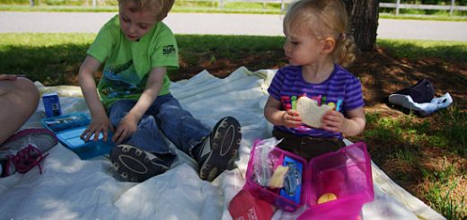Picnic with Silas and Rubi