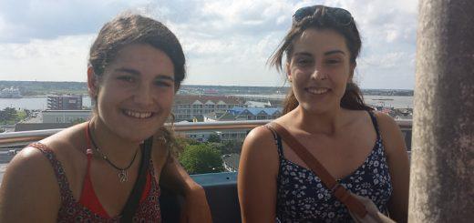 Ocean city with Alejandra and Synara