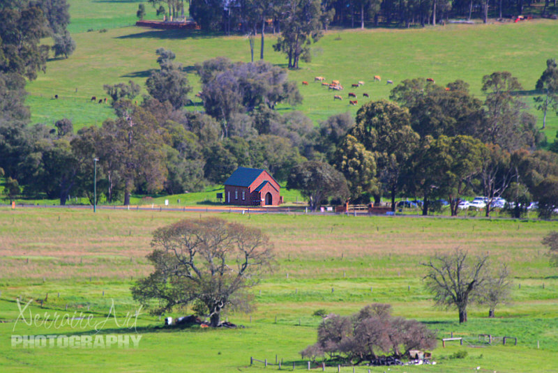 Collie is a beautiful area 132 miles south of Perth.  Coal was discovered there in the early 1880's by a shepherd.