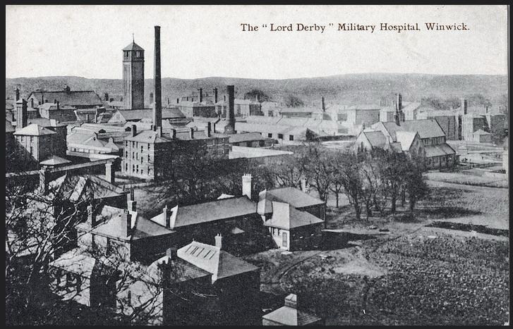 The Lord Derby Military Hospital, her easiest job yet.