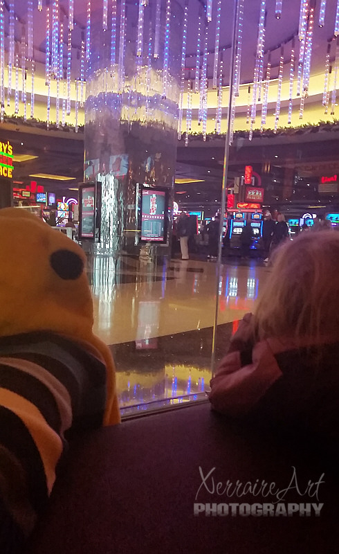 But the Cheesecake Factory is right next to the Casino...we had to get the children past that first!