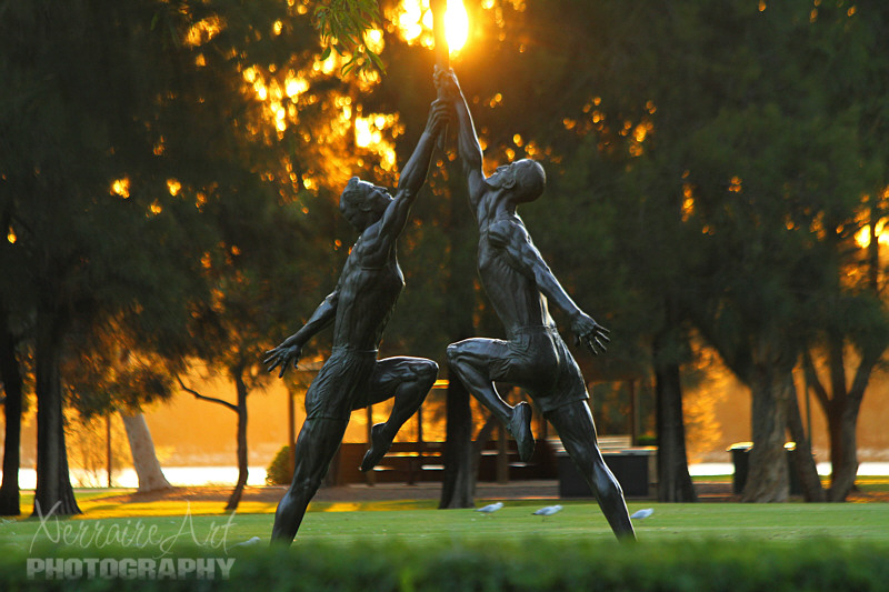 Perth Sculpture, Olympic torch