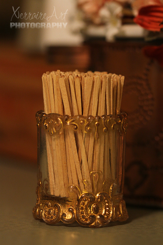 The Toothpick Holder