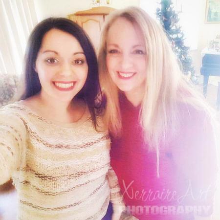 Laura and Mama