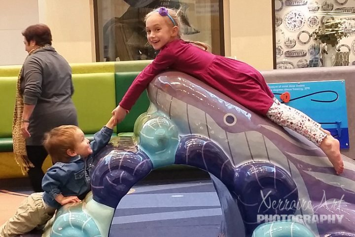 Fleeing the Fleas with the Kids at the Mall