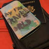 passport and cell phone