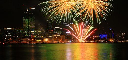 fireworks Perth