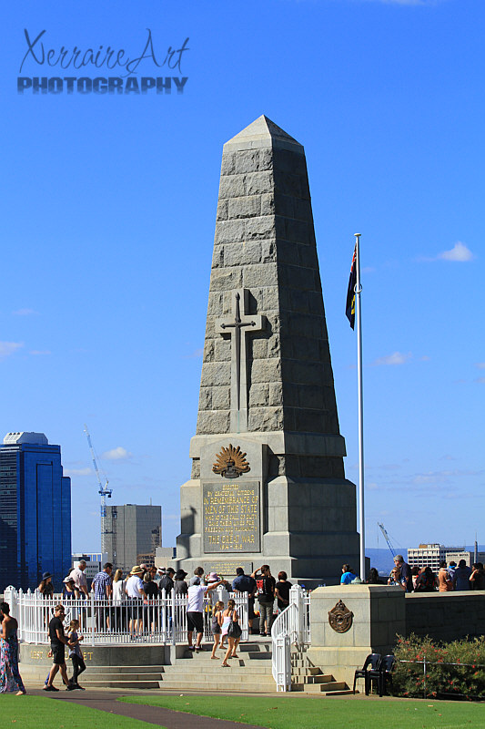 ANZAC Memorial in Perth