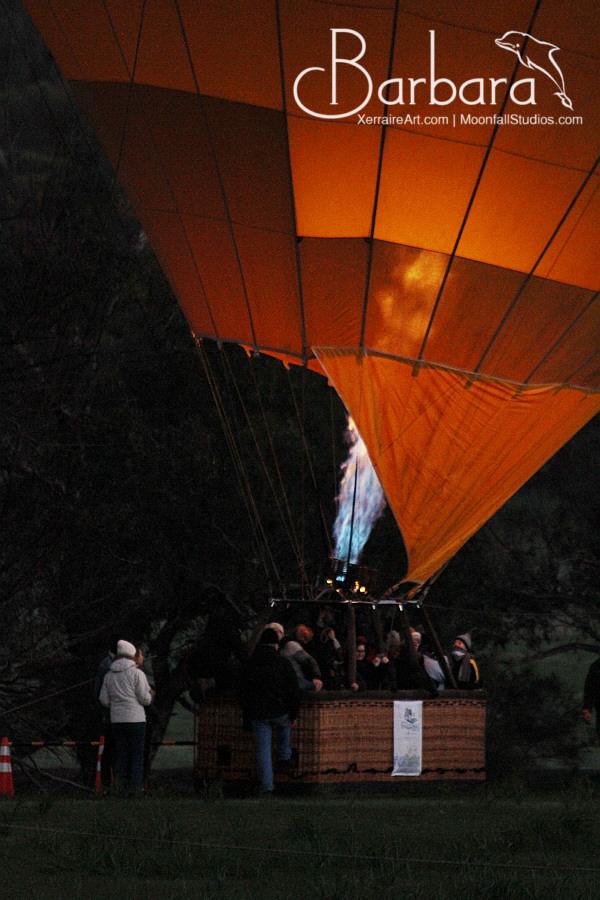 full basket ballooning