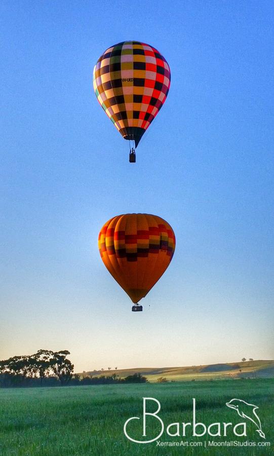 balloons over Northam