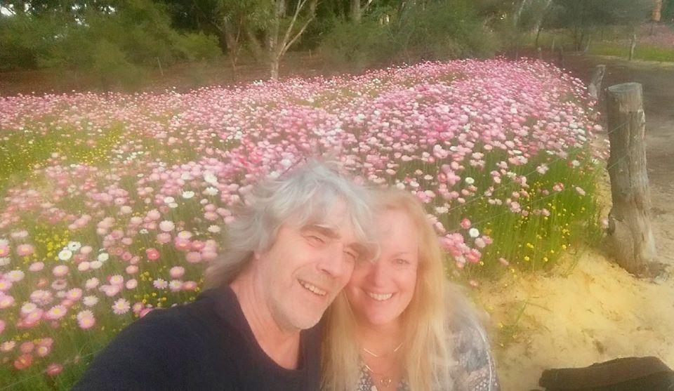 Selfy Jon and Barb
