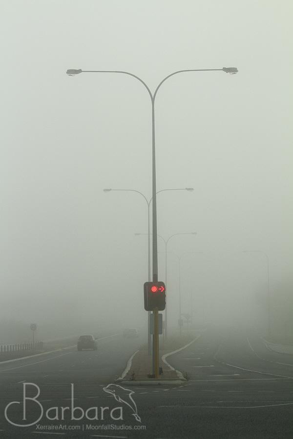 Fog in Perth