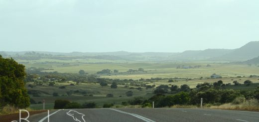 driving to kalbarri