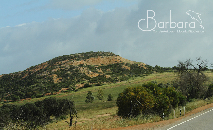 hills along the way