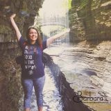 Laura at Rainbow Falls