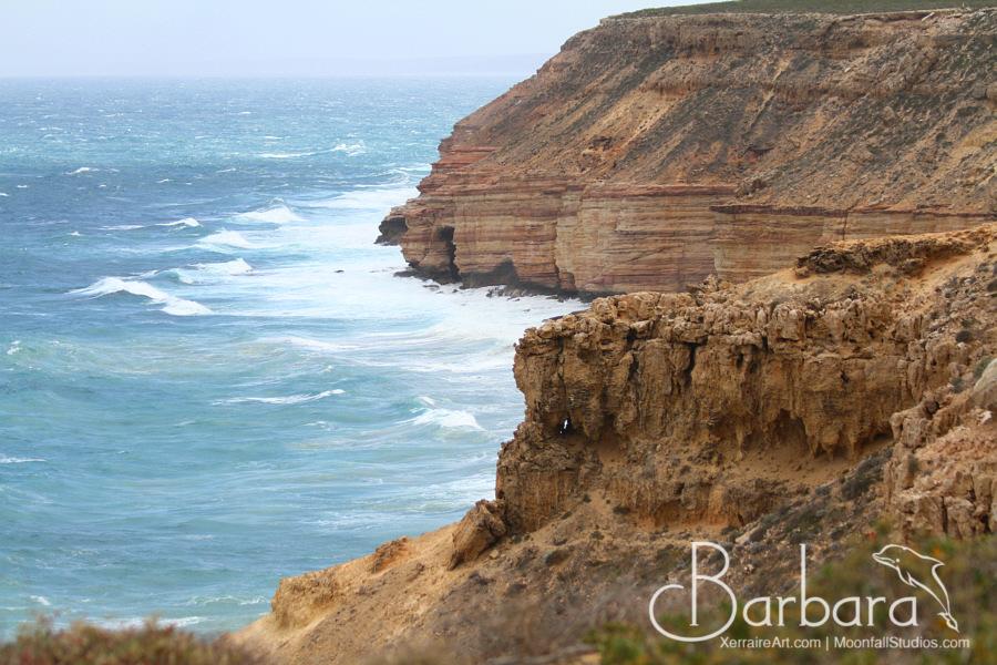 Sandstone cliffs of Kalbarri