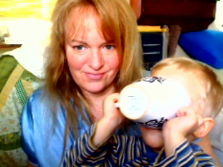 Web cam Fun with Silas