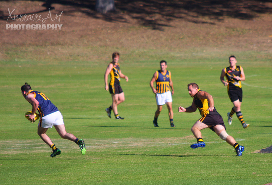 My First Australian Rules Football Game