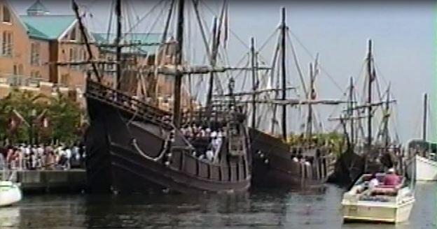 Las Caravellas in 1992