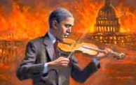 He fiddles while the world burns
