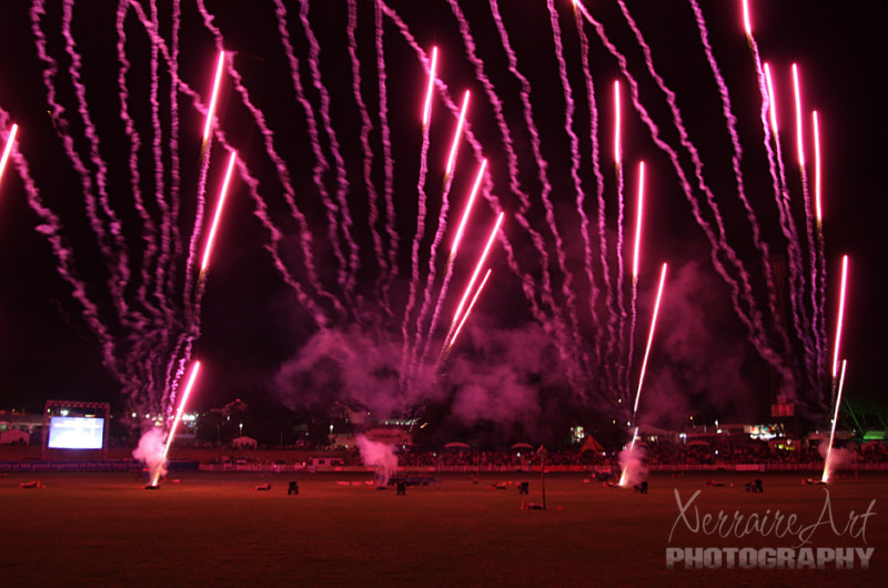 Perth Royal Show: The Fireworks