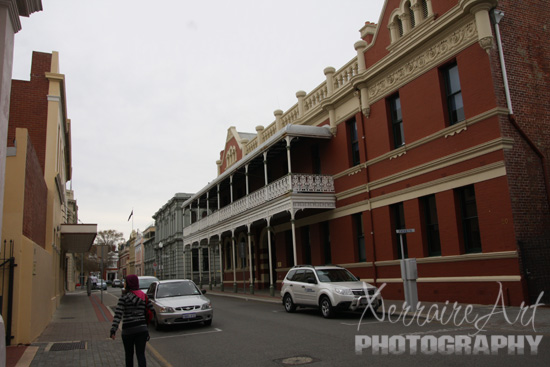 One of the many examples of old buildings at Freo.