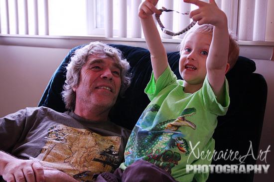 John Meets the Grandchildren
