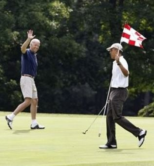 Golfing at Taxpayers Expense
