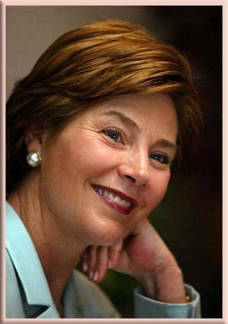 Laura Bush Selected for the Alice Award