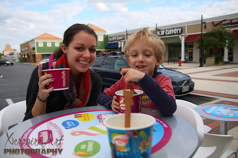 Menchies and Lake Waterford
