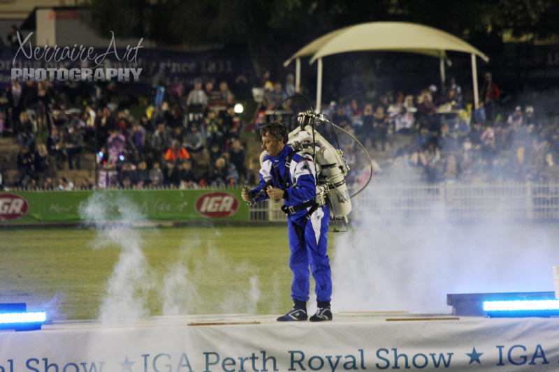 Perth Royal Show: Oz Rocketman