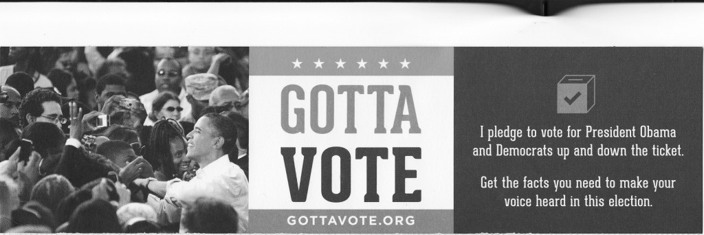 Go to College Pledge to Vote for Obama