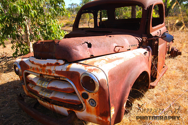 One thing I learned knowing John, men love rusty old things. I learned it even greater when I hosted a photography site, many men photographers love rusty old things.