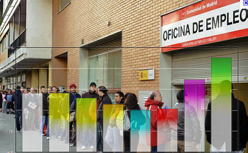 Jobless Rate in Spain Over 20 Percent