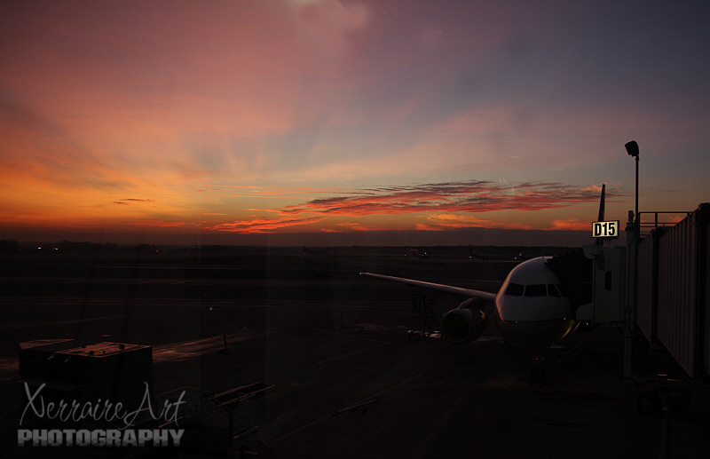 Sunrise at BWI