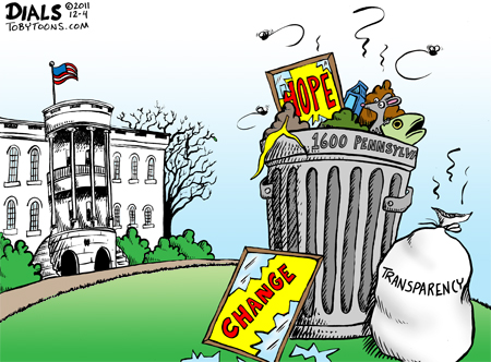 take out Obama trash in 2012