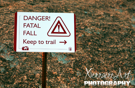 Fatal Fall? Really did I want to come up here?