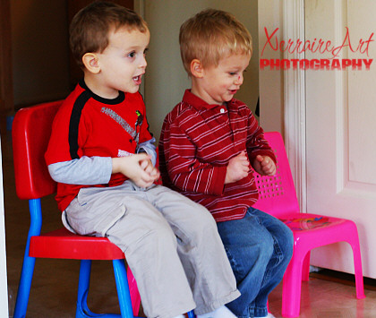Boys and Chairs