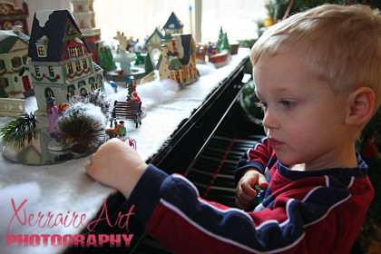 Silas Discovers the Christmas Village