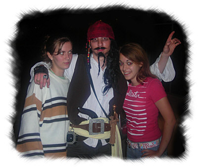 Andrew as Captain Jack Sparrow