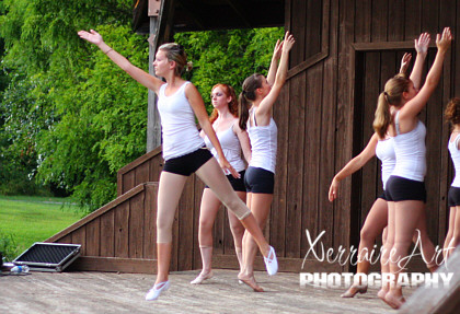 Dance Recital at Downs Park